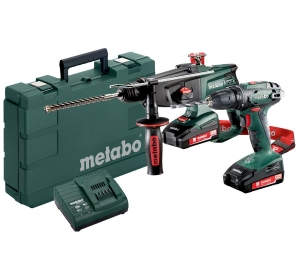 Набор Metabo Combo set 2.3.2 18 V BS18+KHA18