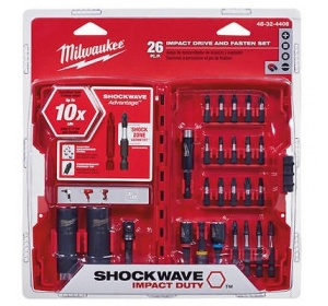 Набор бит 26 шт Milwaukee 48-32-4408 Shockwave Impact Drive
